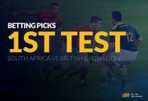 1st Test Betting Picks - South Africa vs British & Irish Lions