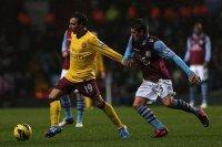 Aston+Villa+v+Arsenal