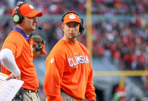 Clemson Tigers Head Coach Dabo Swinney