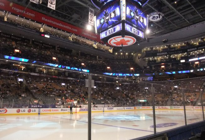 The ACC before a Leafs game