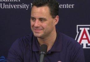 Sean Miller, head coach of the Arizona Wildcats