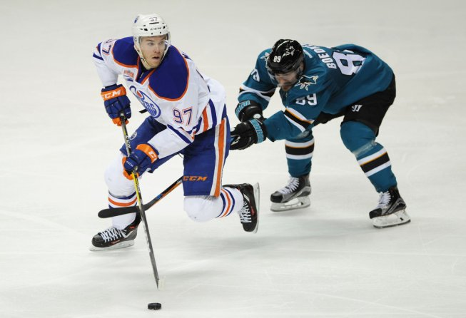 McDavid dangles against the Sharks
