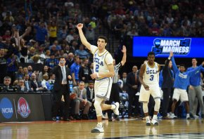 Lonzo Ball with the UCLA Bruins
