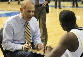 John Beilein coaching Michigan