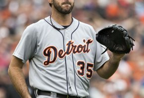 Justin Verlander with the Tigers