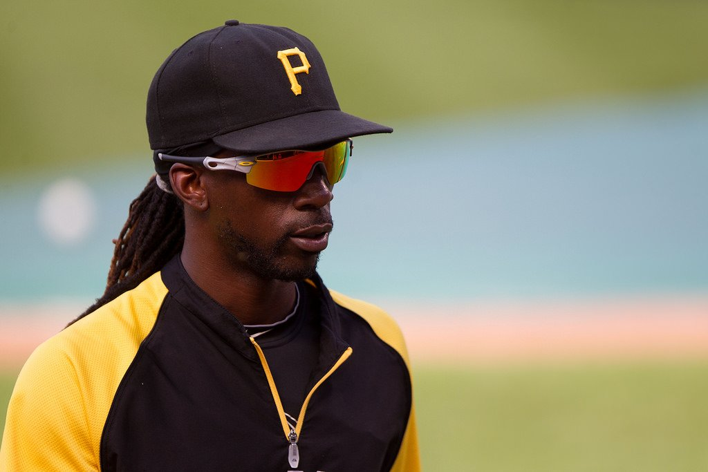 Andrew McCutchen with the Pirates