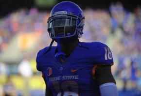 Former Boise State receiver Aaron Burks