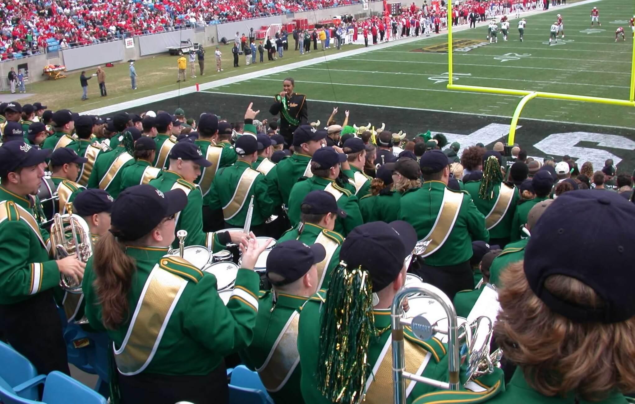 USF at the Meineke Bowl
