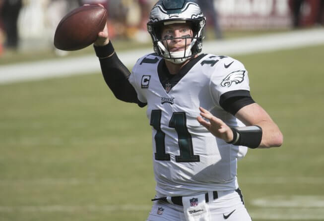 Eagles QB Carson Wentz