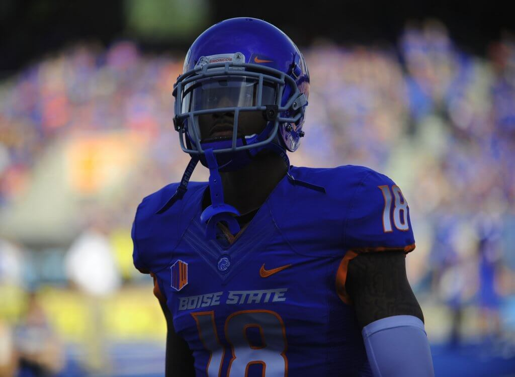 Aaron Burks, a former Boise State Bronco WR
