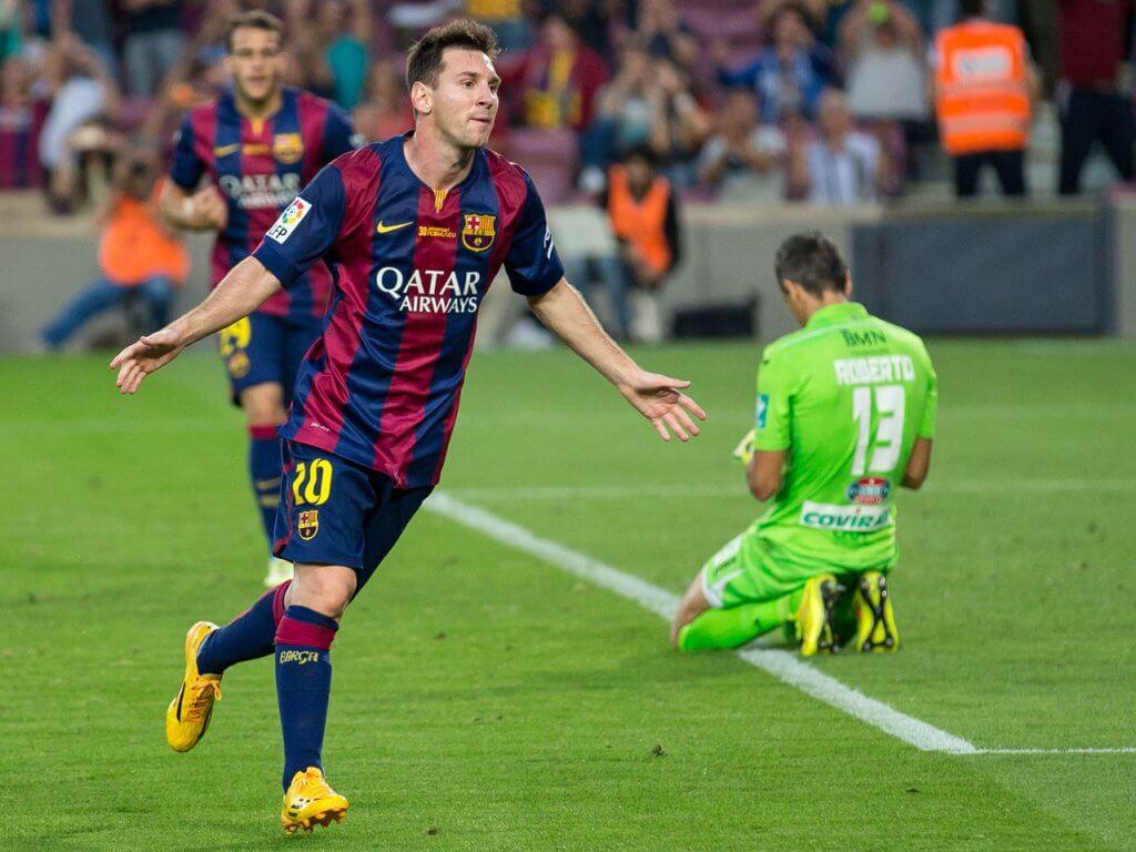 Leo Messi, pre-beard