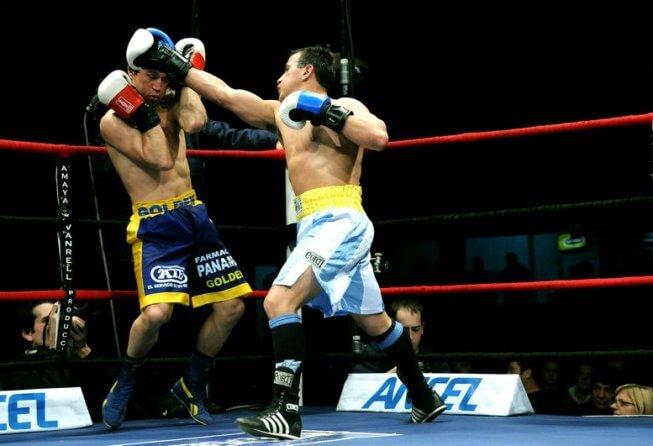 Boxing at the Palacio Peñarol