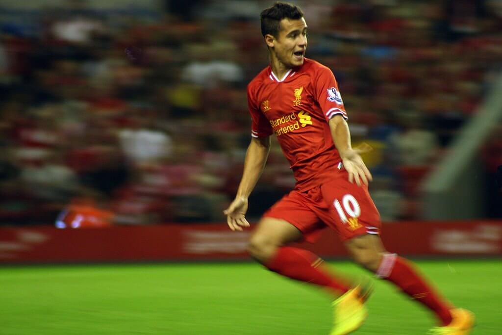 Liverpool's Phillipe Coutinho