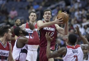 Goran Dragic vs the Washington Wizards
