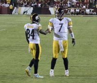Steelers WR Antonio Brown and QB Ben Roethlisberger
