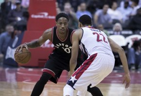 Raptors' guard DeMar DeRozan