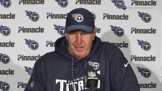 Mike Mularkey, head coach of the Tennessee Titans