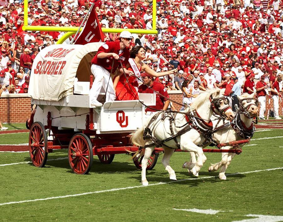 Oklahoma Sooner Wagon