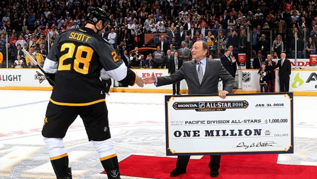 John Scott wins 2016's NHL All-Star MVP