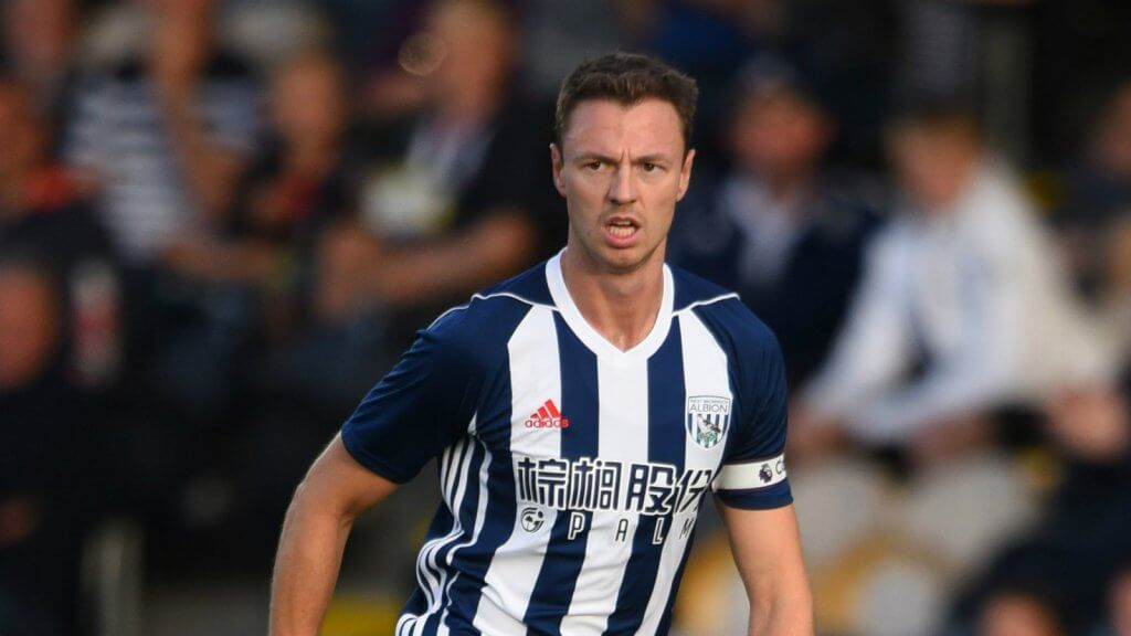 Jonny Evans remains at West Brom - for now.