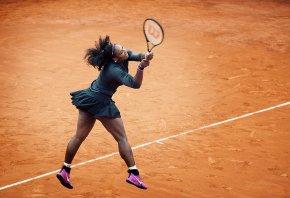Serena Williams Rome Clay
