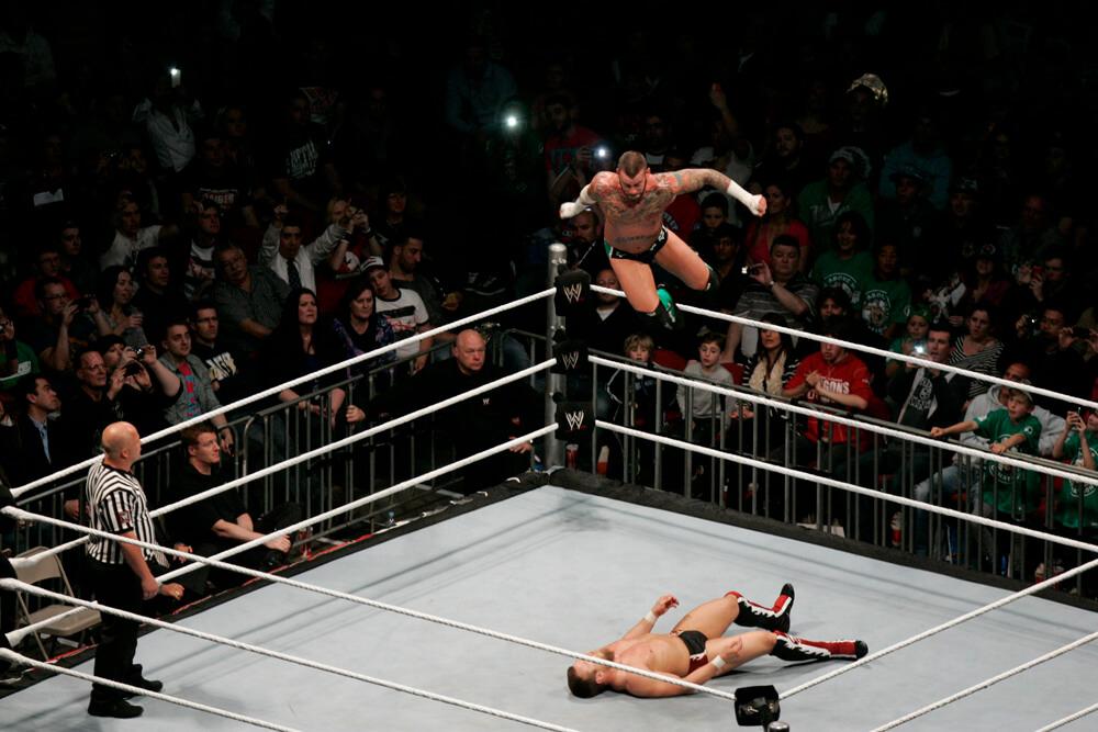CM Punk works his magic at the WWE with Daniel Bryan.