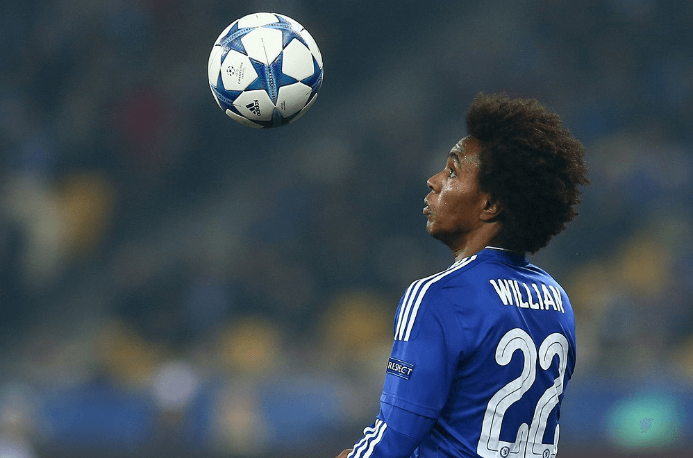 Willian - the creative engine behind Chelsea.