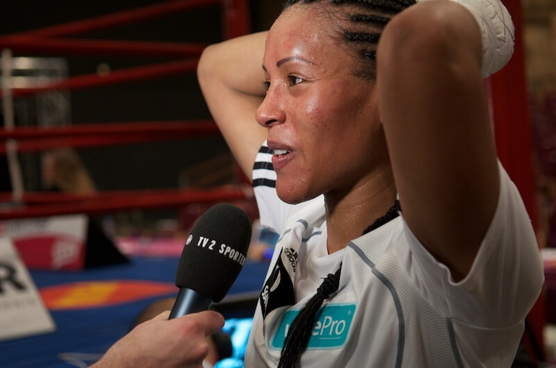Cecilia Brækhus, the queen of welterweight boxing