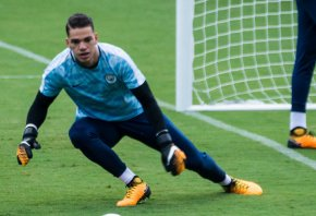 Man City keeper Ederson have had a tough week, letting eight shots past him.