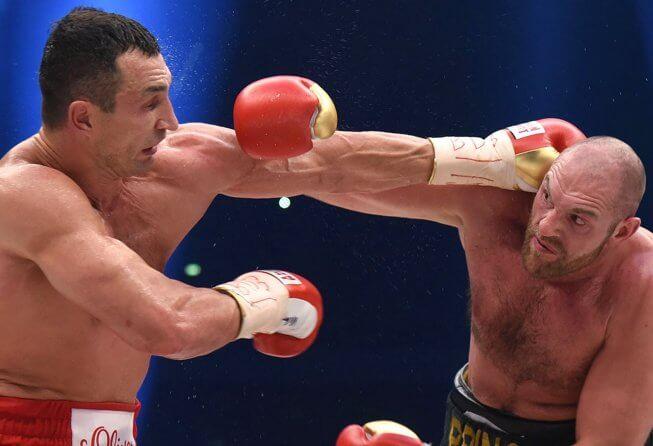 Tyson Fury putting an end to the Klitschko Era.