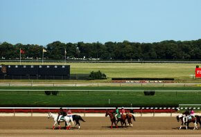 Belmont Stakes track in New York