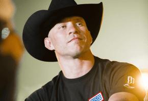 Donald Cerrone in his trademark cowboy hat.
