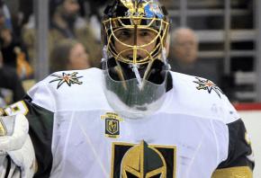 Vegas Golden Knights goalie Marc-Andre Fleury