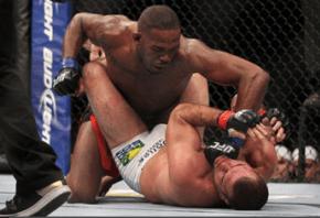 Jon Jones mauls Mauricio Rua at UFC 148