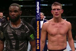 """Tyron Woodley is often criticized for his fighting style, which isn't exactly """"fan friendly."""" But there's no denying his talent."""