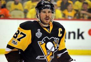 Pittsburgh center Sidney Crosby