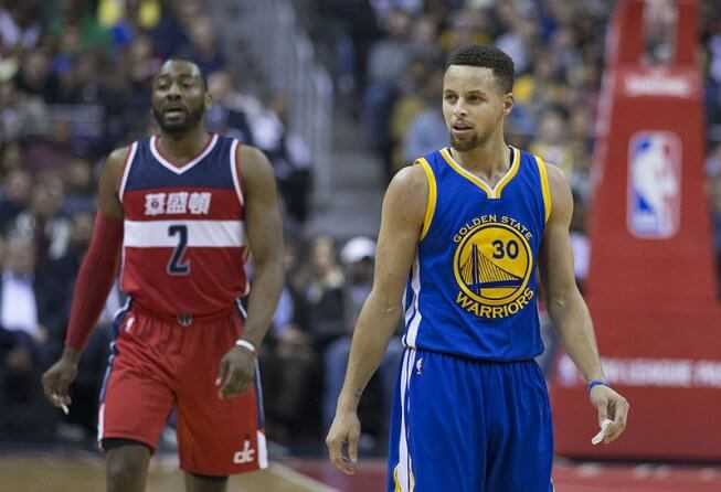 Steph Curry and John Wall