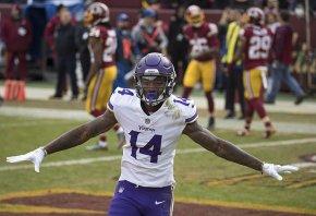Minnesota Vikings wideout Stefon Diggs