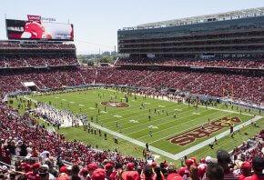 Levi's Stadium in Northern California