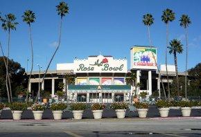 The Rose Bowl in Pasadena
