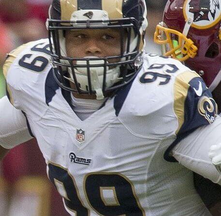LA Rams sack machine Aaron Donald