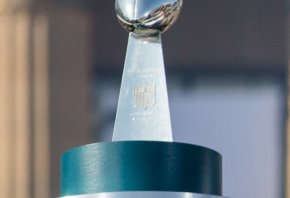 The Super Bowl Champ earns the Lombardi Trophy