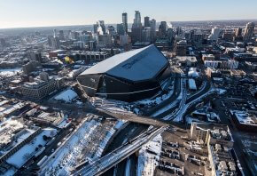 U.S. Bank Stadium in Minneapolis