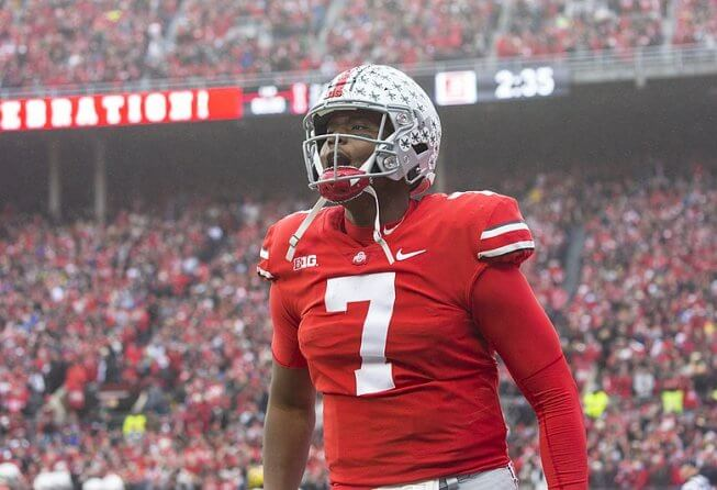 Dwayne Haskins during his time with Ohio State