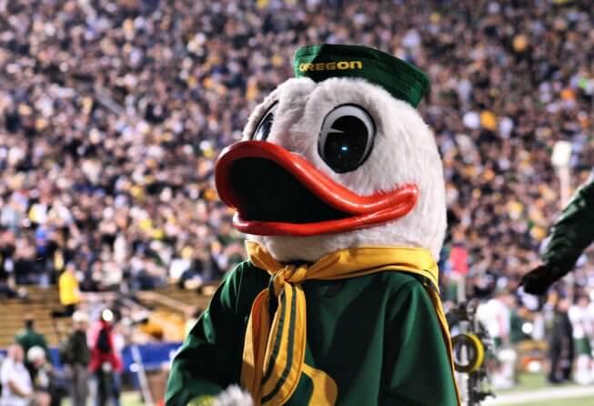 Oregon Ducks mascot
