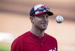 Max Scherzer has his eyes on the prize this season.