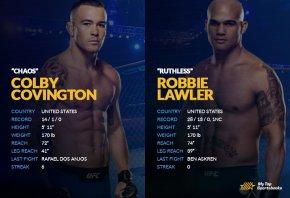 Covington vs Lawler Betting Preview