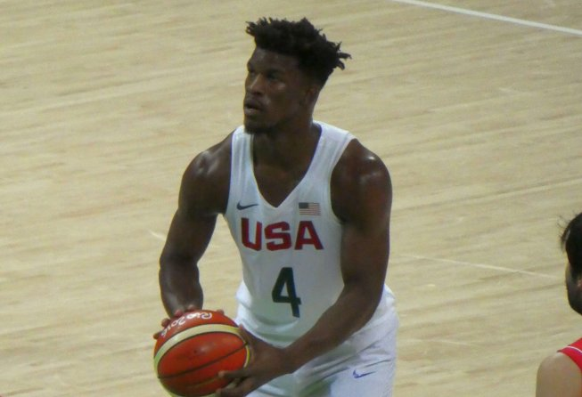 Jimmy Butler of the 76ers