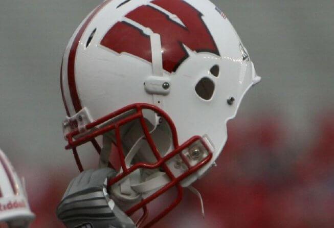 Wisconsin football helmet