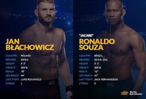 Jan Blachowicz vs Ronaldo Souza